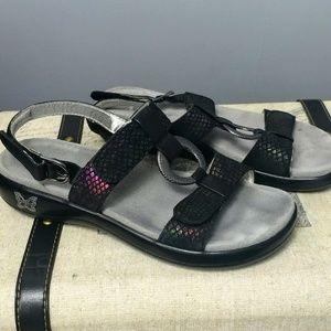 NEW I Alegria leather non-slip sandals adjustable